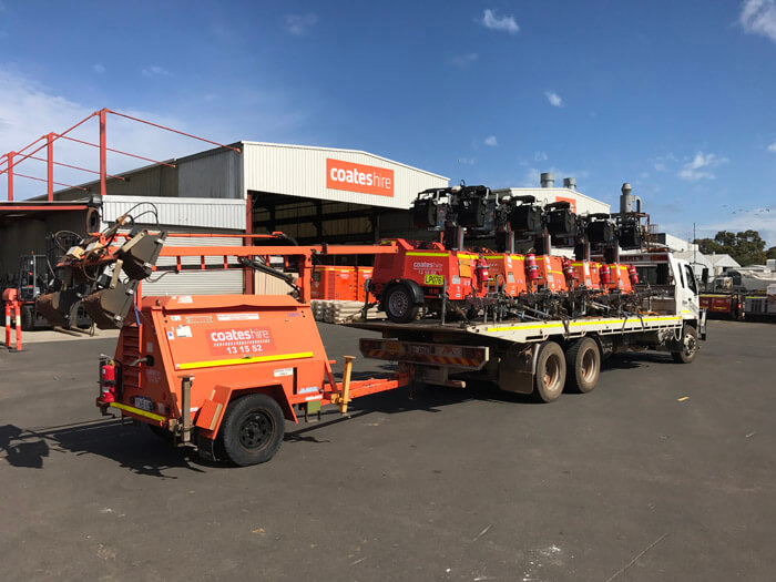 Roberts Tilt Tray Services and Coates Hire